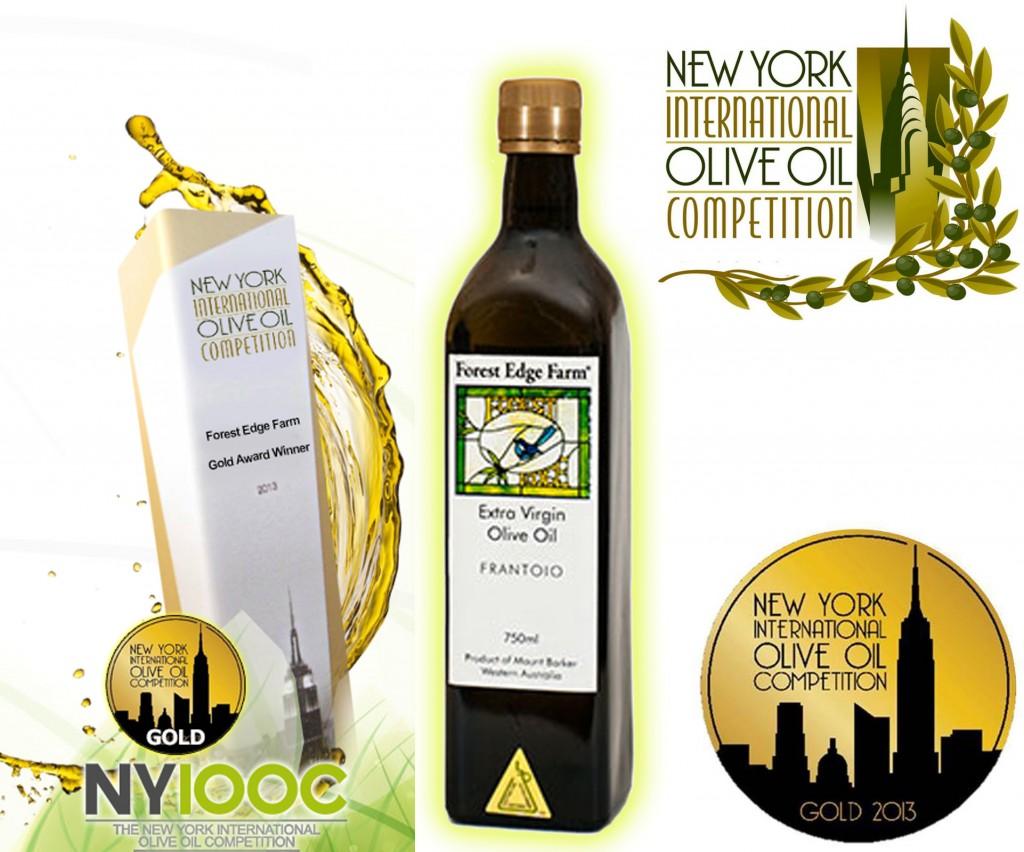 Extra Virgin Olive Oil Gold Winner